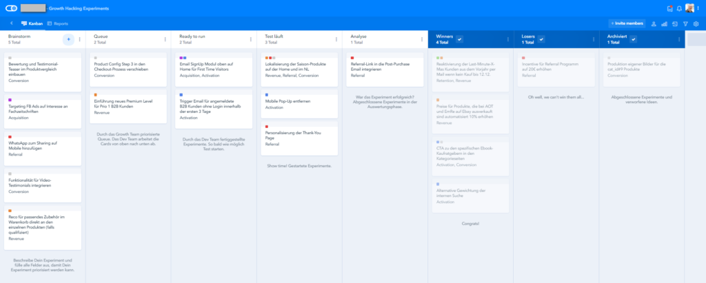 Pipefy Growth Experiment Pipeline