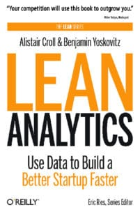 "Buch ""Lean Analytics""- Alistair Croll & Benjamin Yoskovitz"