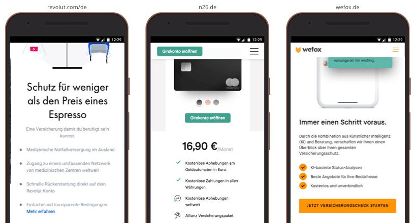 UX Best Practices Mobile: mobil-spezifische Formatierung, Bullets, Headlines für bessere Produktinfos