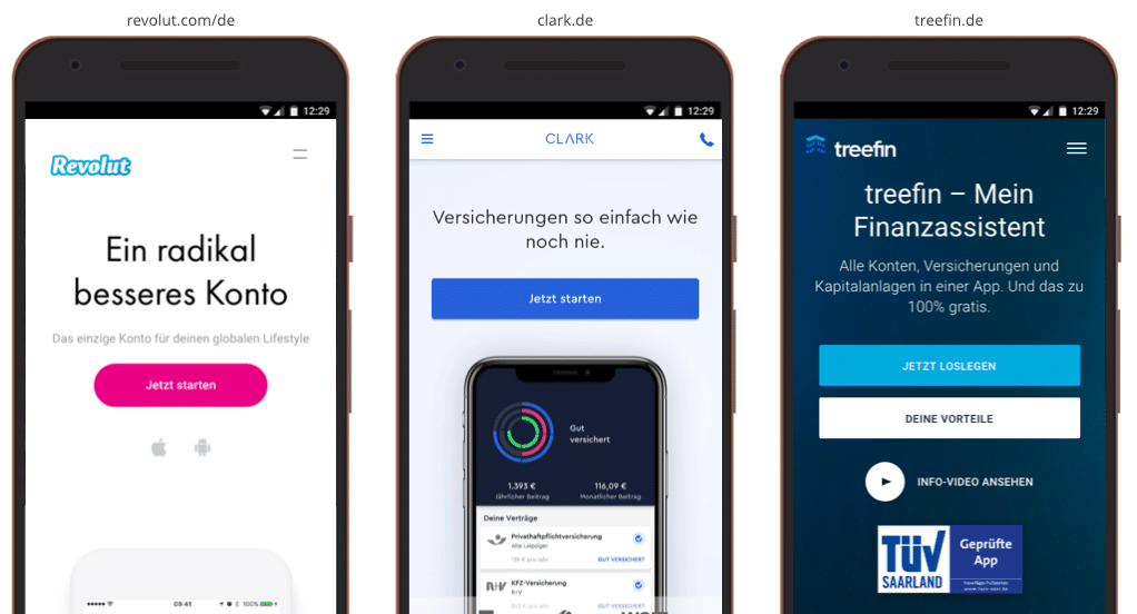UX Best Practices Mobile: CTA Priorisierung