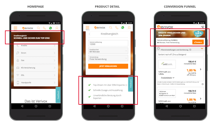 UX Best Practices Mobile: Relevante Werteversprechen