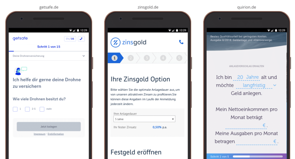 UX Best Practices Mobile: Progress Bar Pagination integrieren