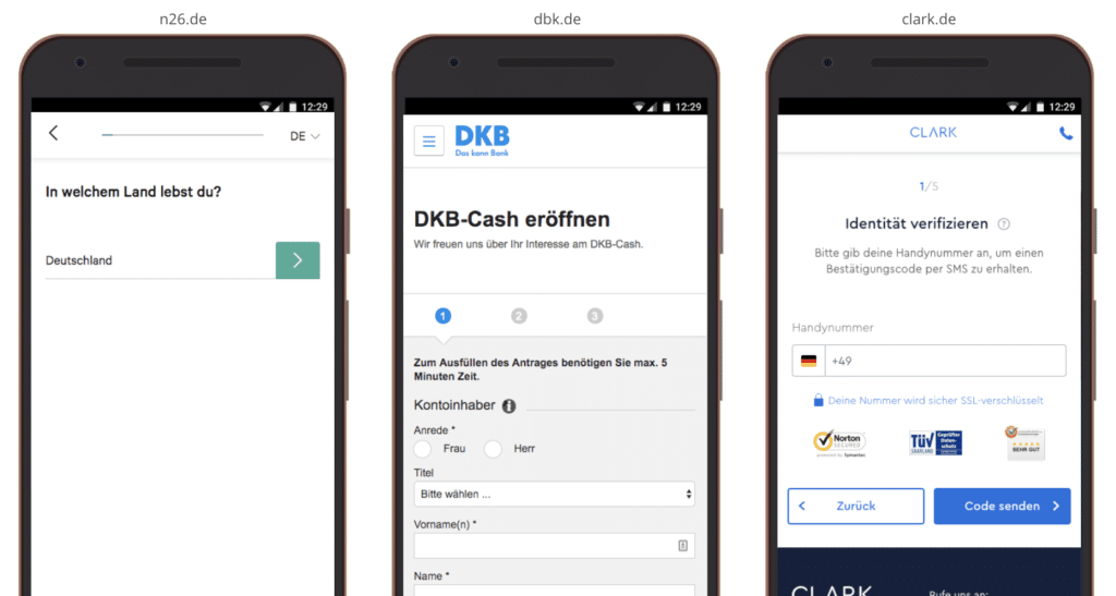 UX Best Practices Mobile: Ausstiegsmöglichkeiten Konversionsprozess begrenzen