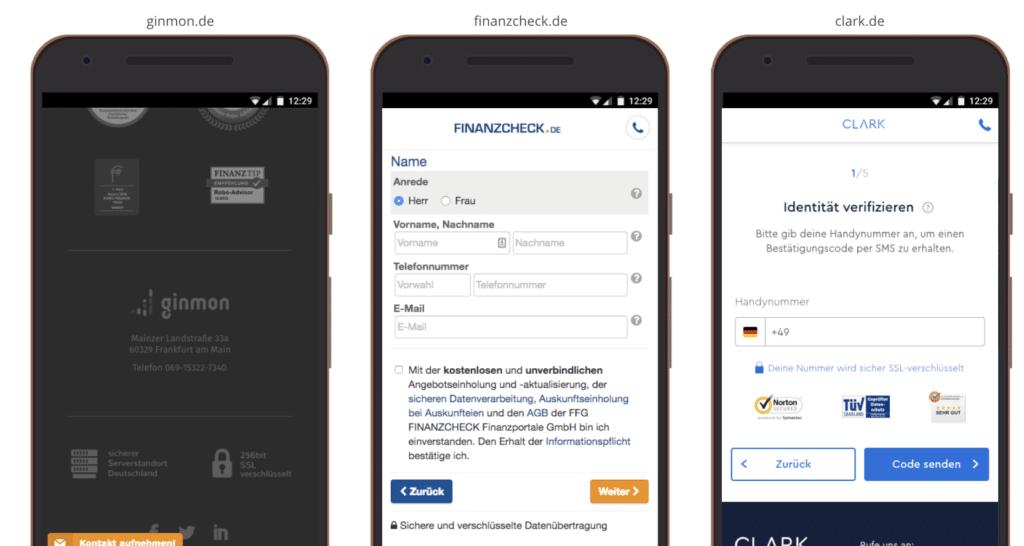 UX Best Practices Mobile: Sicherheitssiegel Zertifikate integrieren