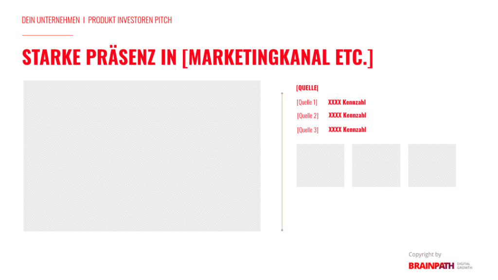 Investoren-Pitch-Deck und wie du es erstellst. Marketing.