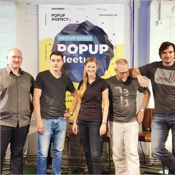 Brainpath organisiert Mini-Konferenz POPUP-Meetup 2019